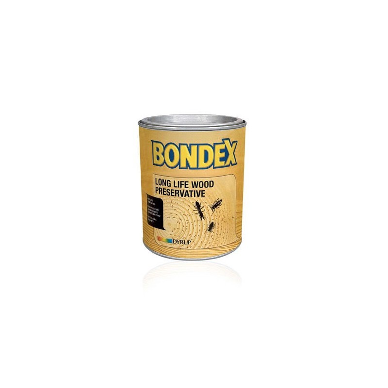 BONDEX LONG LIFE WOOD PRESERVATIVE 0.75L